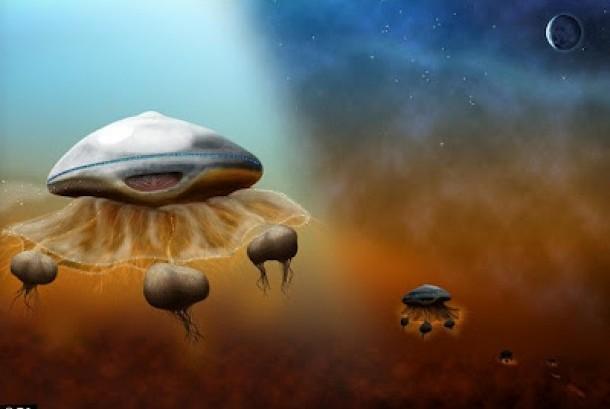 Perkiraan makhluk luar angkasa