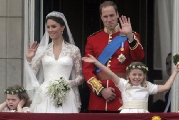 Pernikahan Pangeran William dengan Kate Middleton