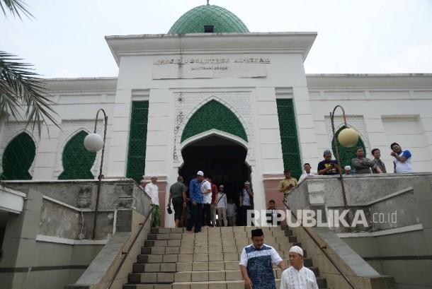 Kompleks Pesantren Al-Hikam, Depok, Jabar.