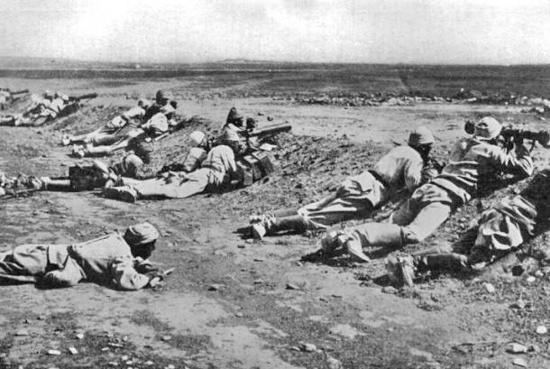 Pertempuran pertama Gaza.