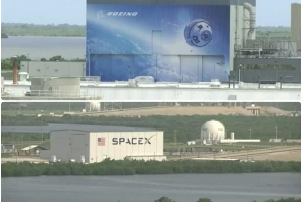 Perusahaan Boeing dan SpaceX