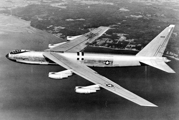 Pesawat pengebom AS B-52.