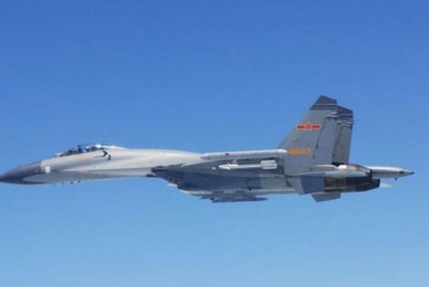 Pesawat tempur Cina (ilustrasi)