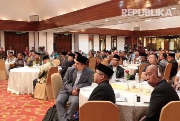 Peserta Halaqah Ulama ASEAN 2017 di Jakarta yang akan berlangsung pada tanggal 17-19 Oktober 2017.