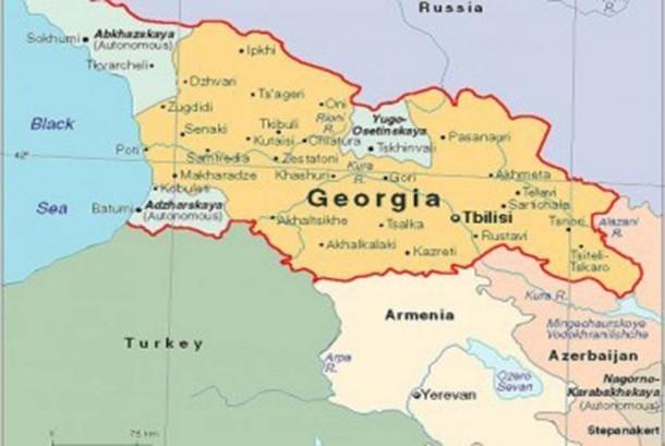 Peta Georgia