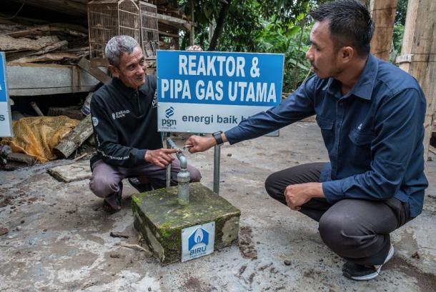PGN bangun 10 reaktor biogas di Semarang.