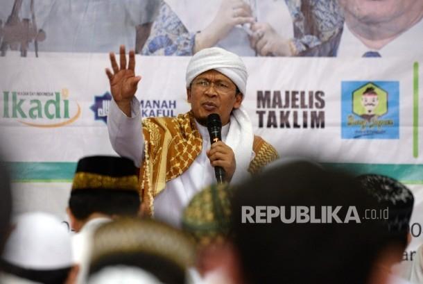 Pimpinan Ponpes Daarut Tauhid KH Abdullah Gymnastiar.