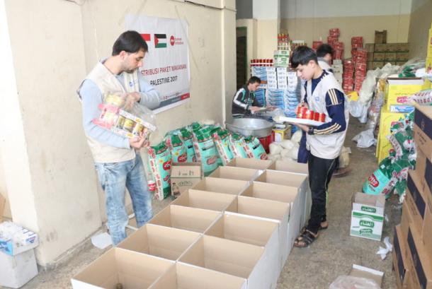 PKPU Human Initiative salurkan bantuan ke Gaza.