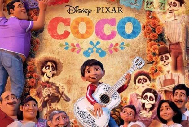 Poster film Coco besutan Pixar.