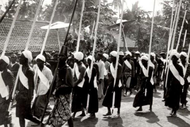 Prajurit Kasultanan Yogyakarta.