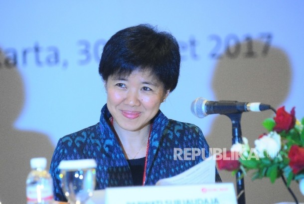 Presiden Direktur PT OCBC NISP Tbk Parwati Surjaudaja.