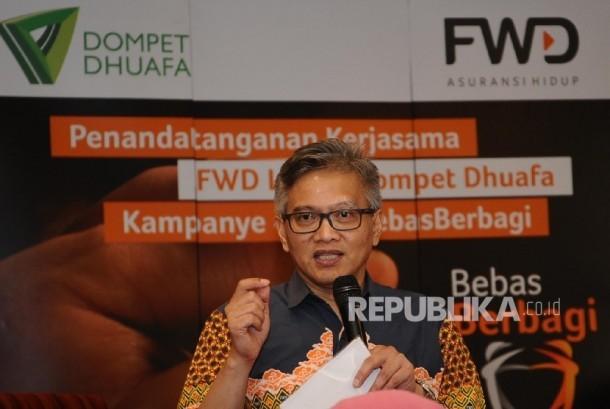 Presiden Direktur FWD Life Rudi Kamdani.