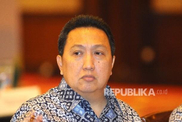 Presiden Direktur PT Adaro Energy Tbk Garibaldi Thohir