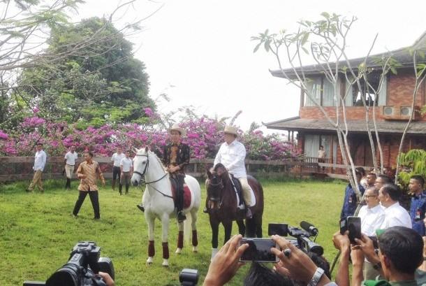 Joko Widodo, Prabowo Subianto, Gatot Nurmantyo
