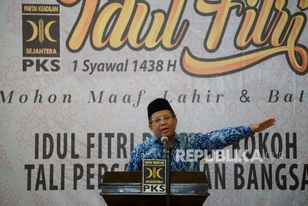 Presiden PKS Mohamad Sohibul Iman.