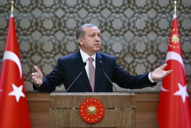 Presiden Turki Reccep Tayyib Erdogan
