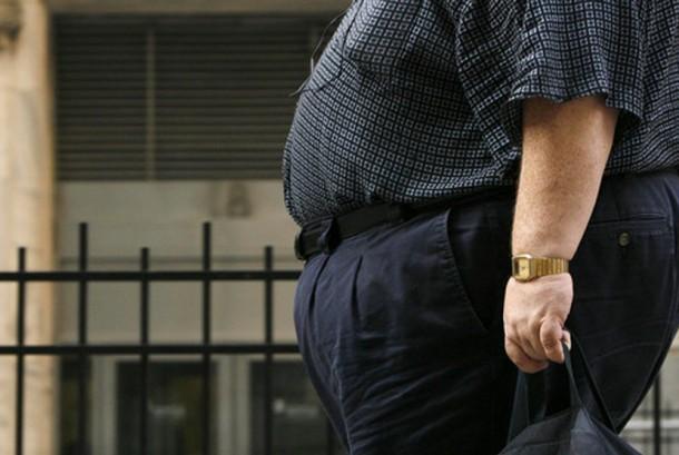 Pria kegemukan (obesitas)