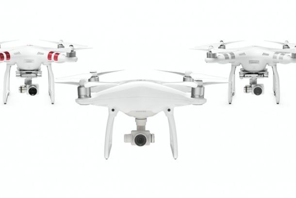 Produk pesawat tanpa awak (drone) dari DJI
