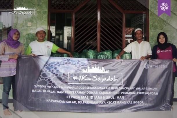 Program 1 KM Sajadah yang diinisiasi Amartha Fintek.