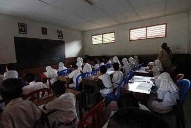 Proses belajar di madrasah