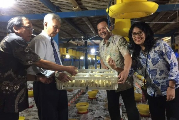 PT Japfa Comfeed Indonesia Tbk (Japfa) melalui anak usaha PT Ciomas Adisatwa meresmikan kandang yang berfungsi sebagai laboratorium usaha peternakan di Agritekno Park Universitas Brawijaya (Unibraw) di Jatikerto, Malang.