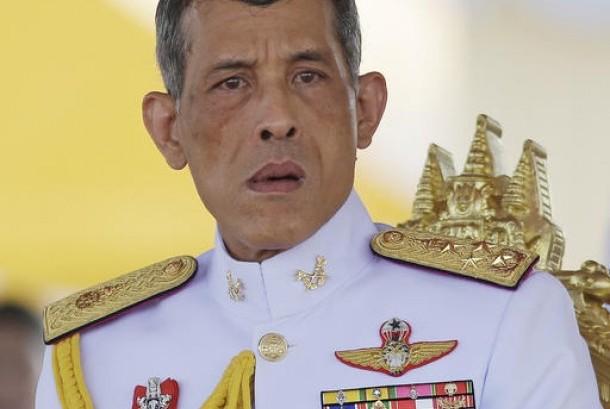 Putra Mahkota Thailand Maha Vajiralongkorn yang akan menggantikan Raja Bhumibol Adulyadej yang mangkat.