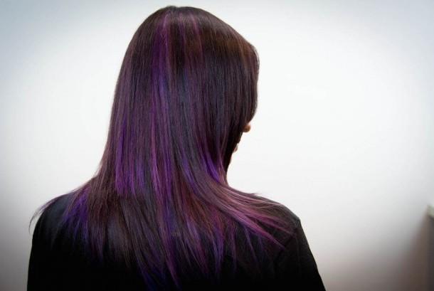 Rambut yang diwarnai