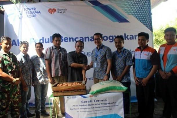 RZ-TBG Distibusikan Sembako untuk Korban Banjir Kulon Progo