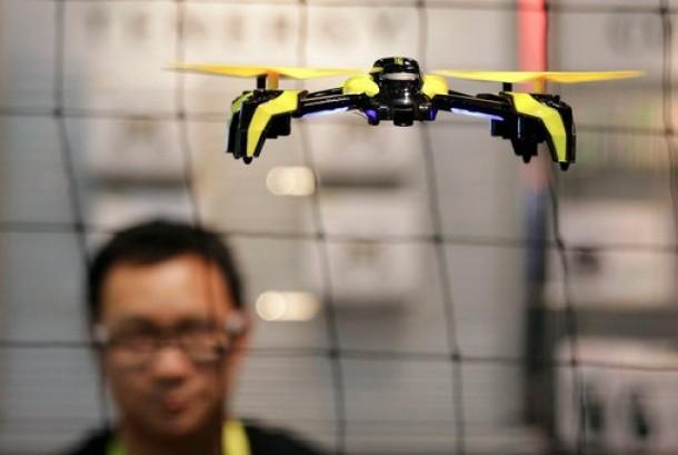 Salah satu jenis pesawat tanpa awak atau drone