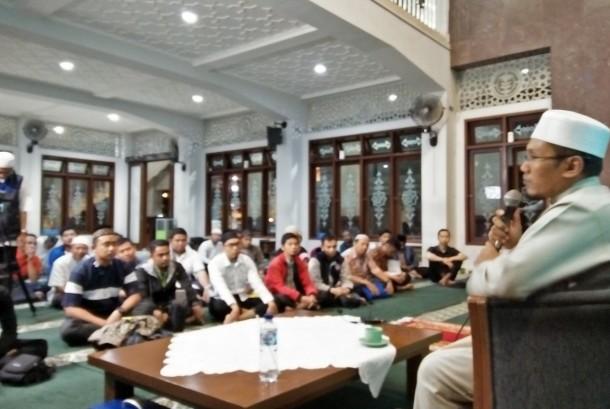 Salah satu kajian yang diadakan di Masjid Alumni IPB Bogor.