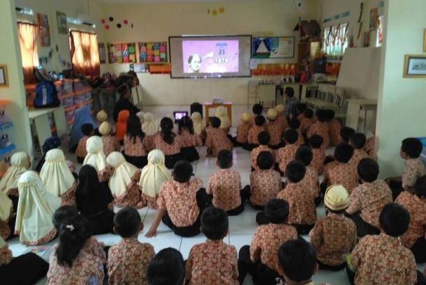 Salah satu kegiatan Sekolah Prestasi Global.