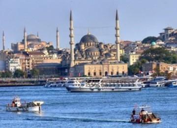 Salah satu keindahan di sudut kota Istanbul, Turki. (ilustrasi)