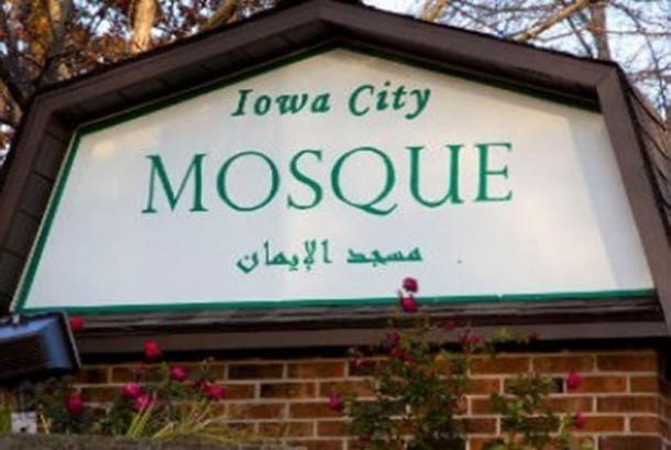 Salah satu masjid di Iowa