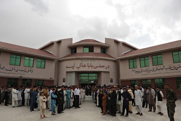 Salah satu masjid di Kabul, Afganistan.