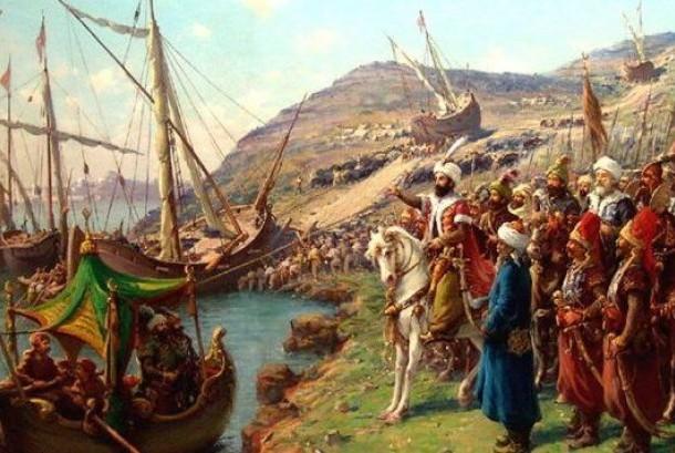 Ilustrasi marching band Ottoman
