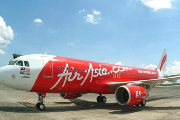 Salah satu pesawat AirAsia.