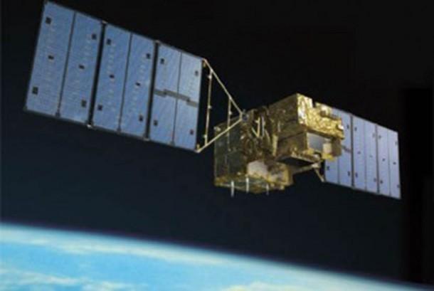 Satelit mata-mata Jepang. Ilustrasi