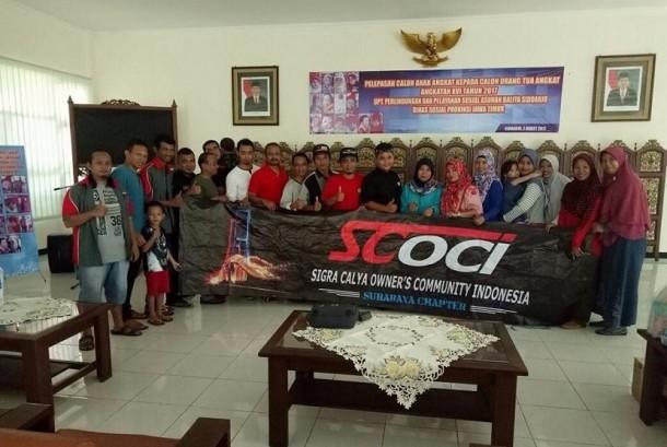 ScocIndonesia gelar kegiatan sosial di dinas sosial balita jawa timur