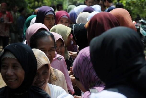 Syawalan atau halal bihalal Idul Fitri (ilustrasi)