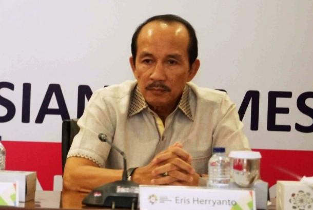 Sekjen Inasgoc Eris Herryanto