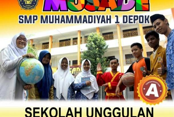 Sekolah Menengah Pertama (SMP) Muhammadiyah 1 Depok (Musade) di Kabupaten Sleman, DIY.