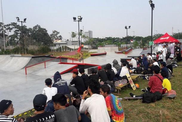 Skate Park di BSD Xtreme Park.