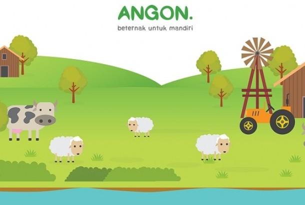 Startup Angon.id menawarkan konsep investasi ternak sapi dan domba online.