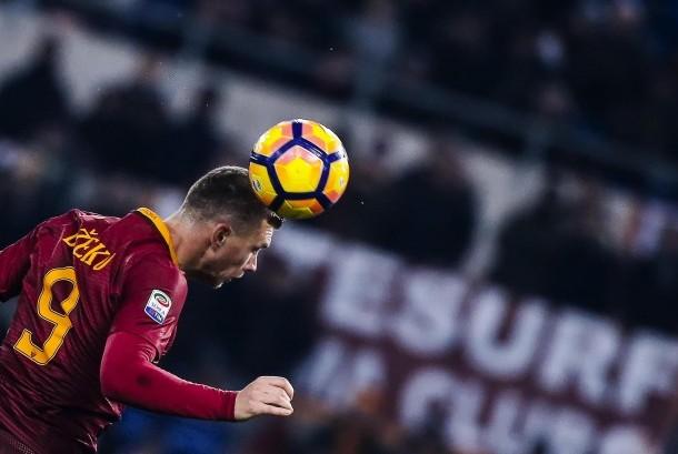 Striker AS Roma, Edin Dzeko.