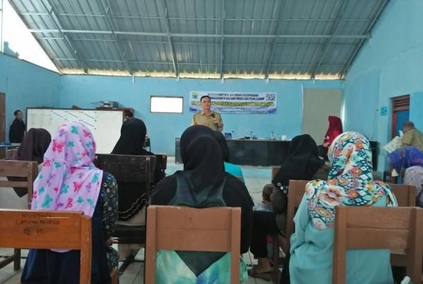 Suasana di Kampung KB Campakawarna.