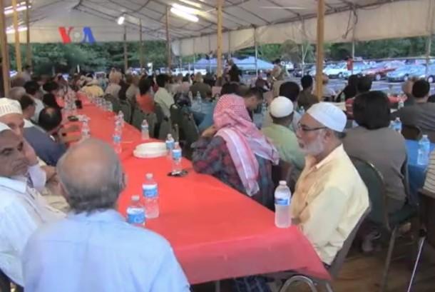 Suasana Ramadhan di AS (ilustrasi)