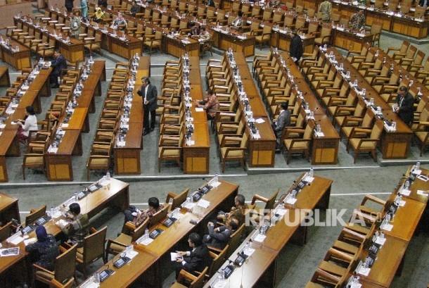 Hak Angket Ahok Diperdebatkan dalam Paripurna DPR