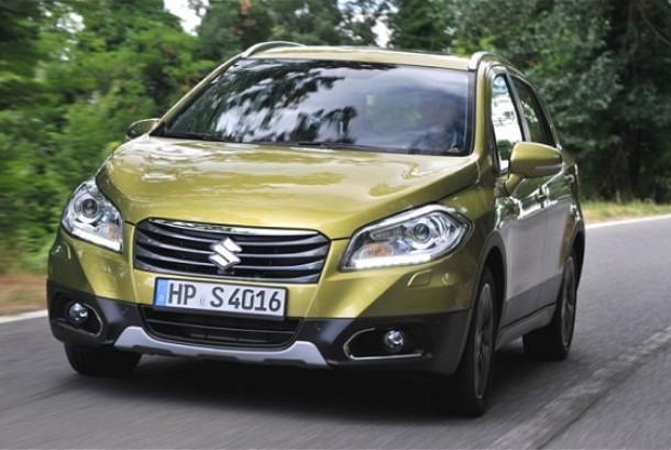 Suzuki New SX4 S-CROSS. Ilustrasi