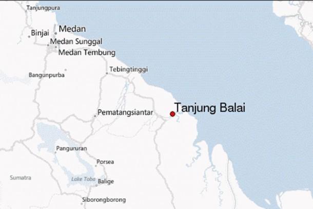 Tanjung Balai, Sumatera Utara.