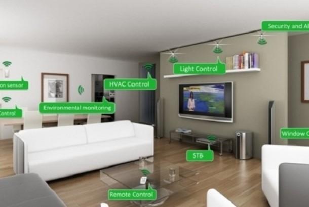 Teknologi di rumah. Ilustrasi
